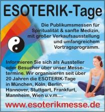 Esoterikmesse in Deutschland und Österreich