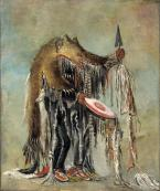Blackfoot-Berserker. George Catlin, 1832